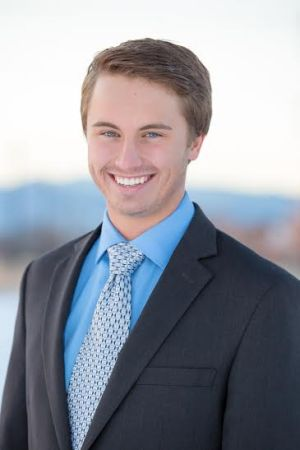 Nathan Grabau, 19, chairman of the Colorado Libertarian Party