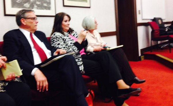 Mike Norton at the hearing.