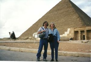 We were in Cairo two months after 9/11. I was there to write about the Muslim world. Susie was probably the only American tourist in all of Egypt.