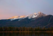 Tender morning alpenglow on the Tenmile Range.