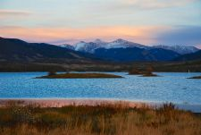 Evening glow over the Continental Divide.