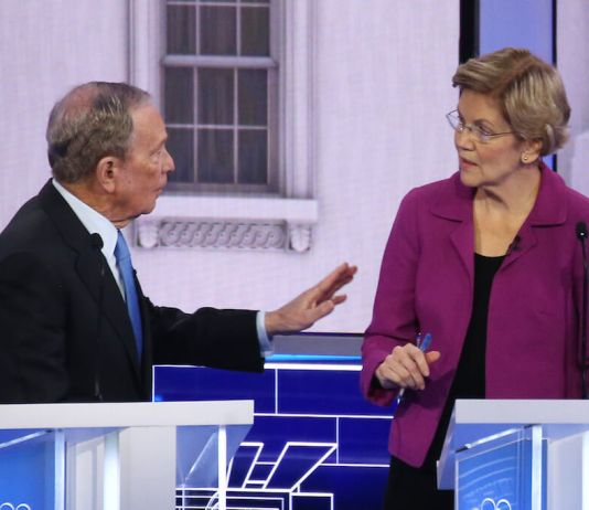 Littwin: Bloomberg was eviscerated, and Warren deftly wielded the knife