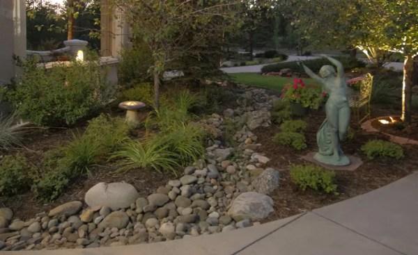 ideas landscaping dry creek