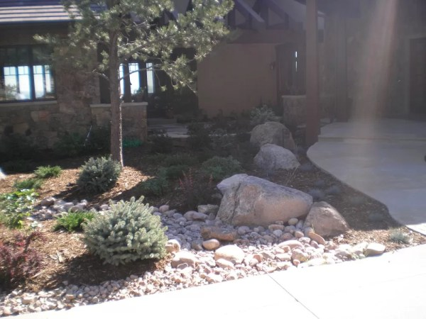 landscaping rock colorado springs