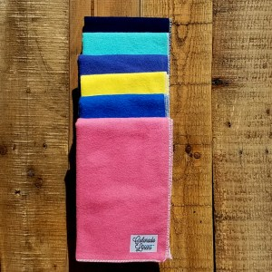 solid variety face cloths