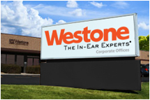 Westone's sign to look for when COMBO tours their plant on July 16th!