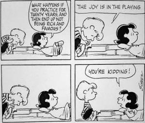 Linus at piano