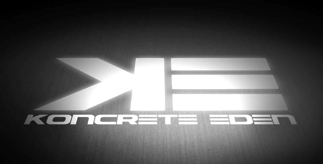 Koncrete Eden shoe logo