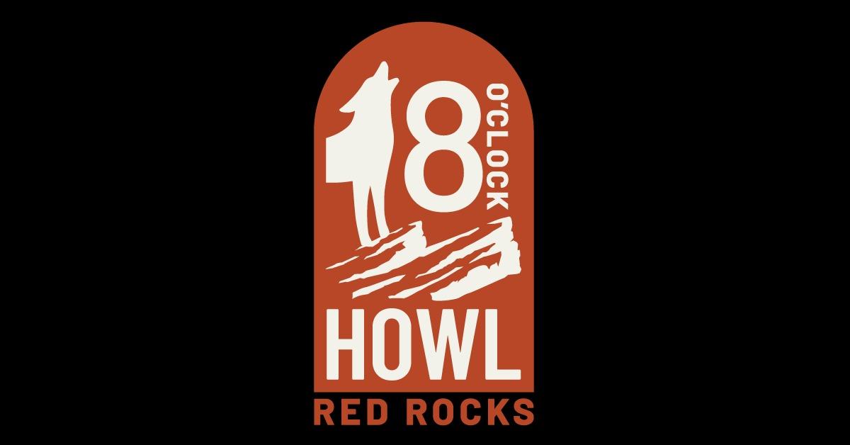 Red Rocks howl logo