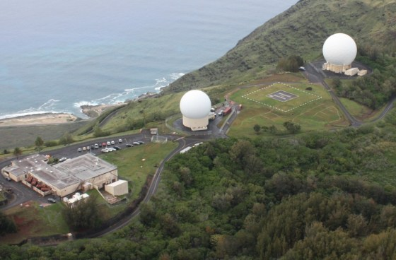The Kaena Point Satellite Tracking Station is part of the Air Force Satellite Control Network, which consists of antennas located at tracking stations around the world. The AFSCN supports Department of Defense, U.S. government and allied satellites and space vehicles whose missions include manned spaceflight, communications, reconnaissance, navigation, weather and early warning. Image Credit: USAF