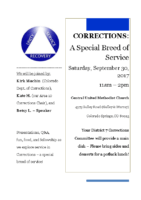 2017 D7 Corrections Flyer