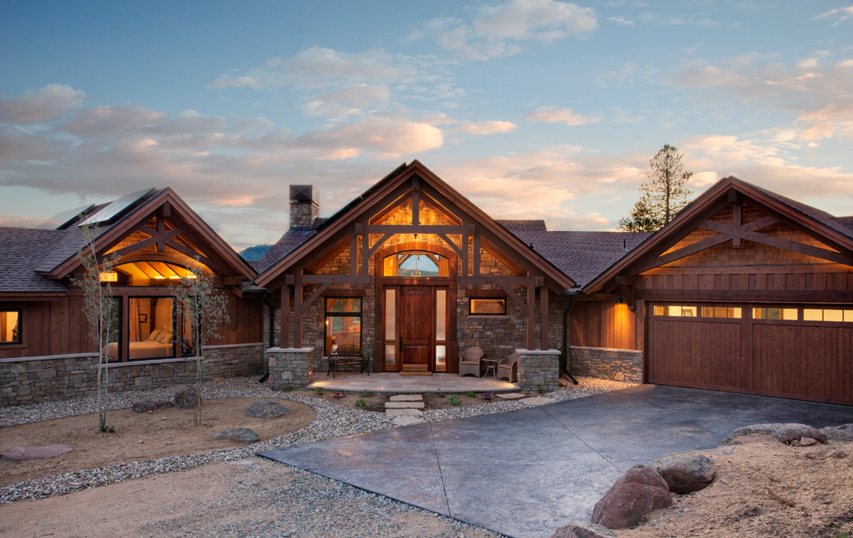 Twin Sisters Ranch Colorado Timberframe
