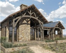 Hill Country Ranch 5 131 Sq. Ft. - Colorado Timberframe