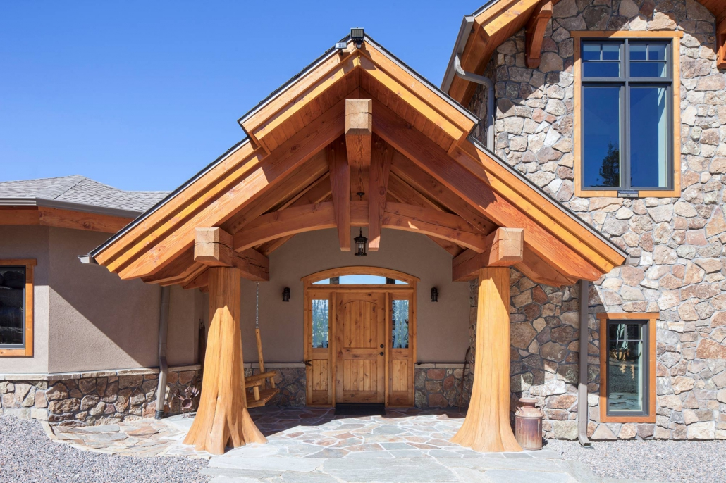 Sitting Bear Ranch  Colorado Timberframe