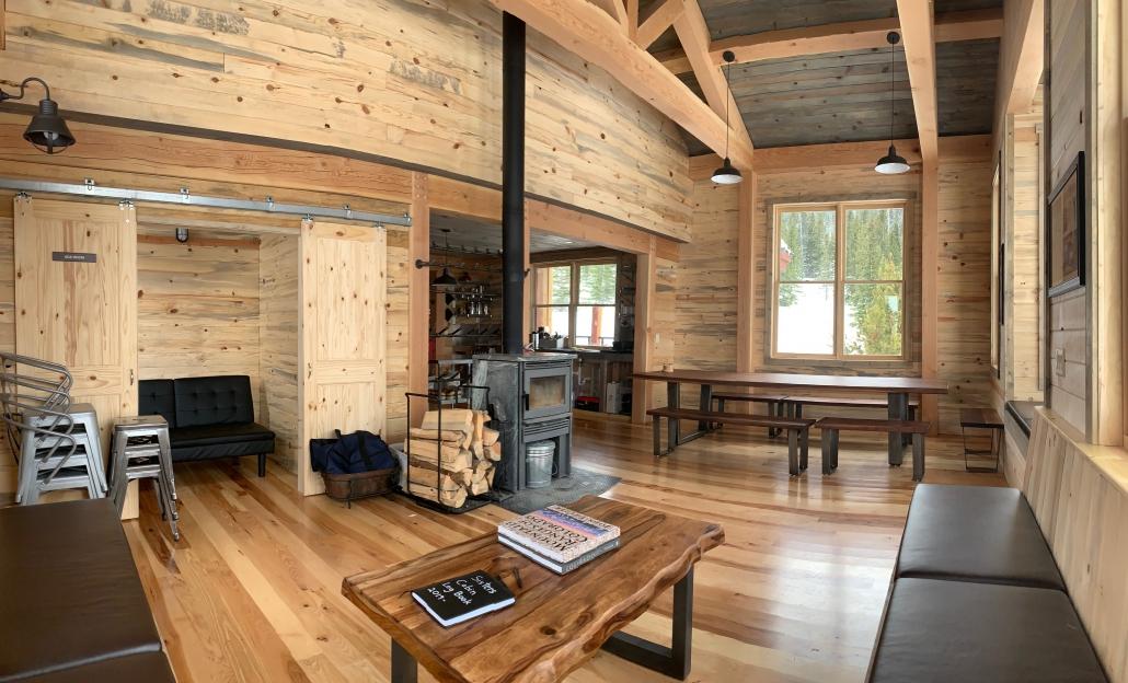Sister S Cabin Ski Hut Colorado Timberframe
