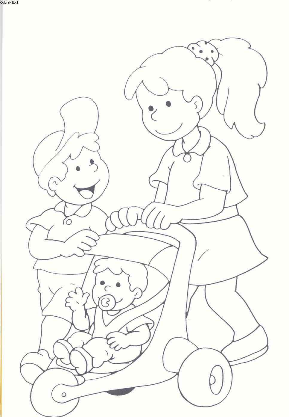 4 5 Anni, Disegni per bambini da colorare