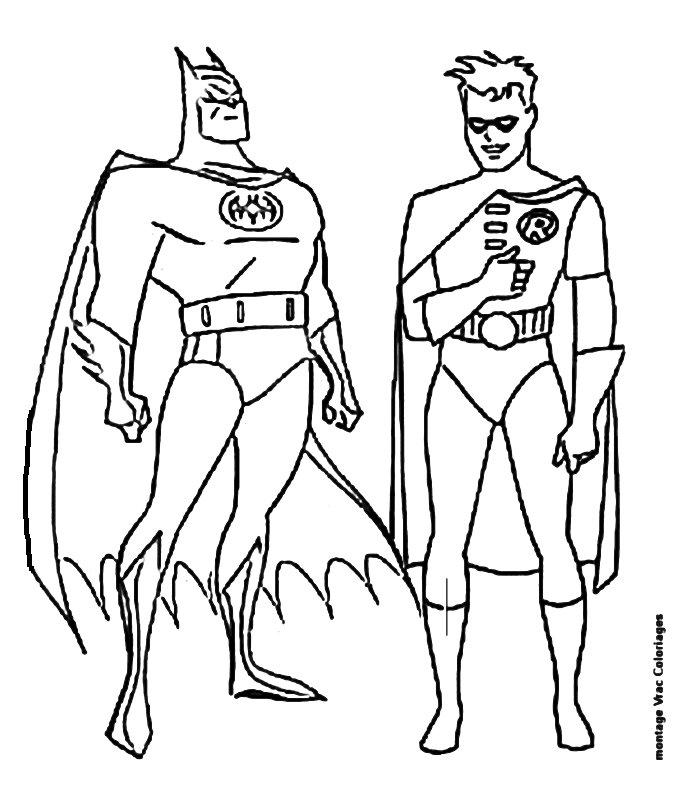 Batman 15 Disegni per bambini da colorare
