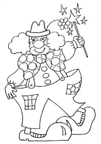 Circo, Disegni per bambini da colorare