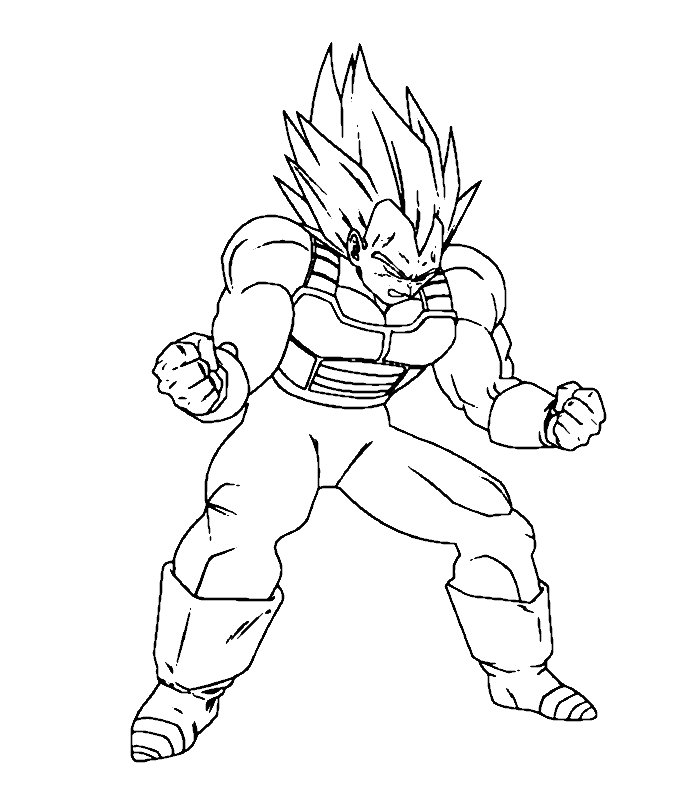 Disegni Da Colorare Di Dragon Ball Z Online