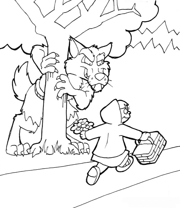 WOLF COLORING PAGES TO PRINT « Free Coloring Pages