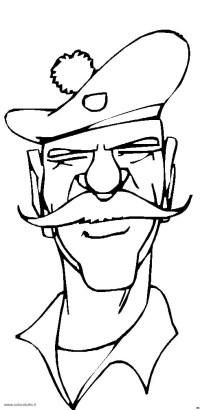 Personaggi Cappello 5, Disegni per bambini da colorare