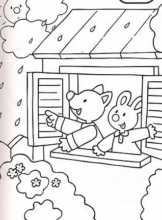 Primavera 18, Disegni per bambini da colorare