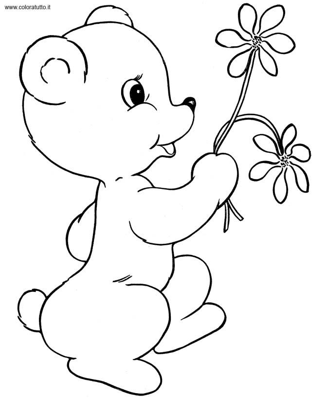 Primavera 3, Disegni per bambini da colorare