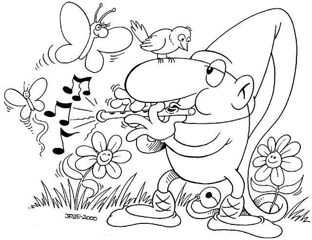 Primavera 24, Disegni per bambini da colorare