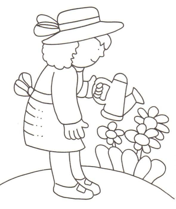 Primavera 42, Disegni per bambini da colorare
