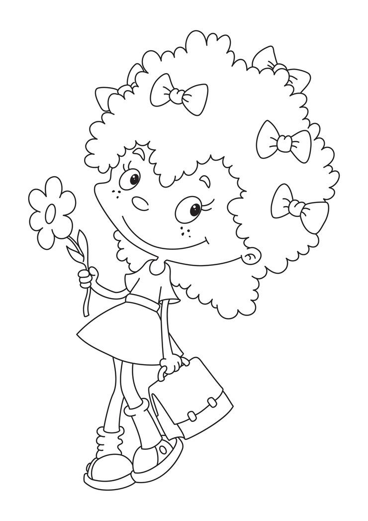 Primavera 58, Disegni per bambini da colorare