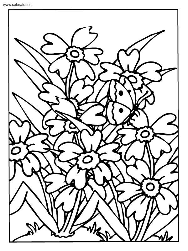 Primavera 8, Disegni per bambini da colorare