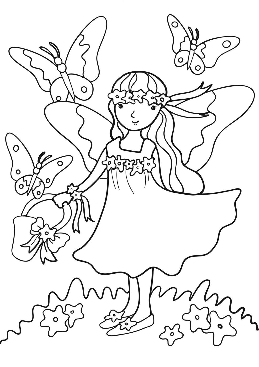 Primavera 9, Disegni per bambini da colorare