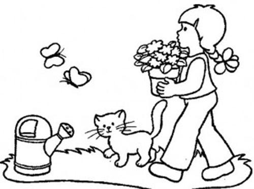 Primavera 37 Disegni Per Bambini Da Colorare