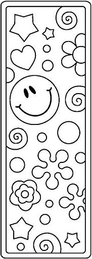 Segnalibri 2, Disegni per bambini da colorare