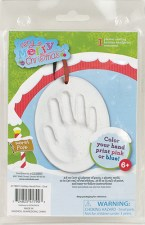 Holiday Handprint Oval Kit: Item# 41790CC