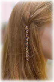 titanium wire style hair wraps