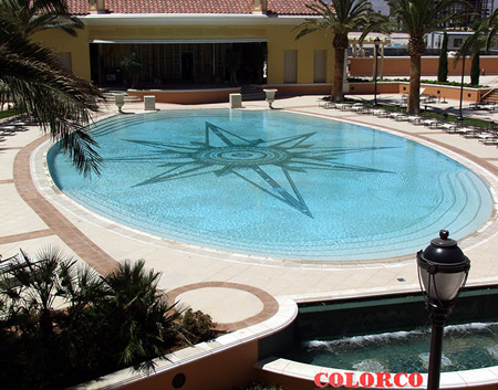 Swimming Pool Mosaics  Colorco LTD  Custom Surface