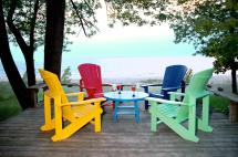 Adirondack Chairs On Deck