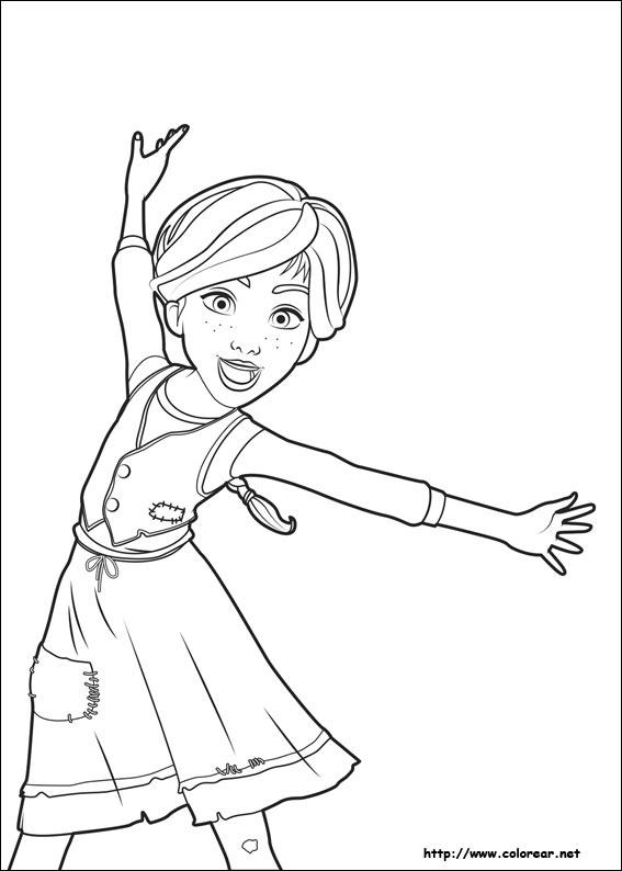 Disegni Di Ballerine Da Stampare E Colorare Foto