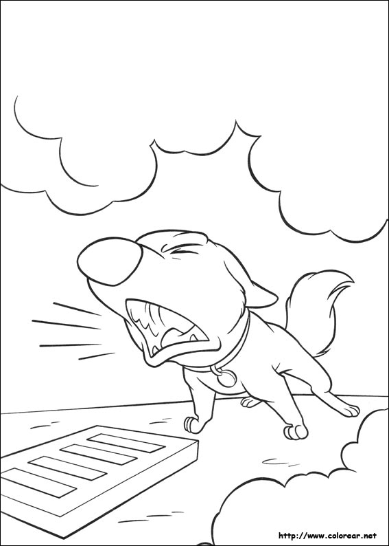 Dibujos para colorear de Bolt