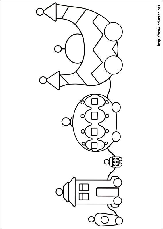 Dibujos para colorear de El jardín de los sueños