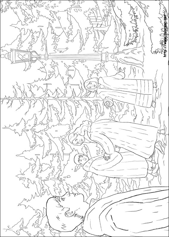 Narnia Lion Coloring Pages