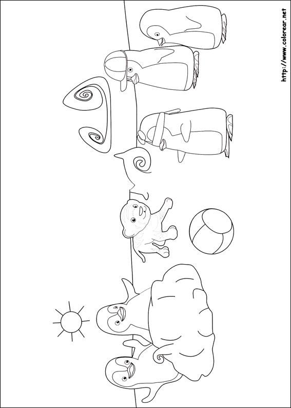 Dibujos Para Colorear De Ozie Boo