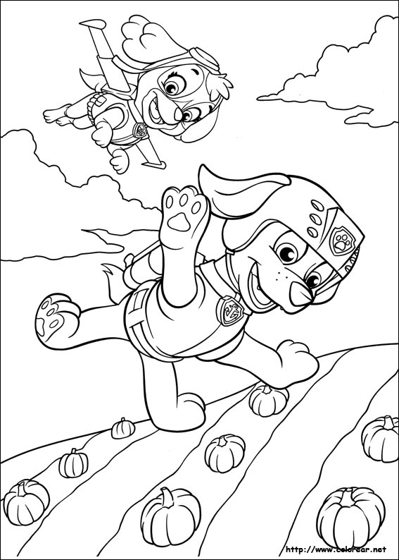 Skye Paw Patrol Coloring Pages To Print Coloring Pages