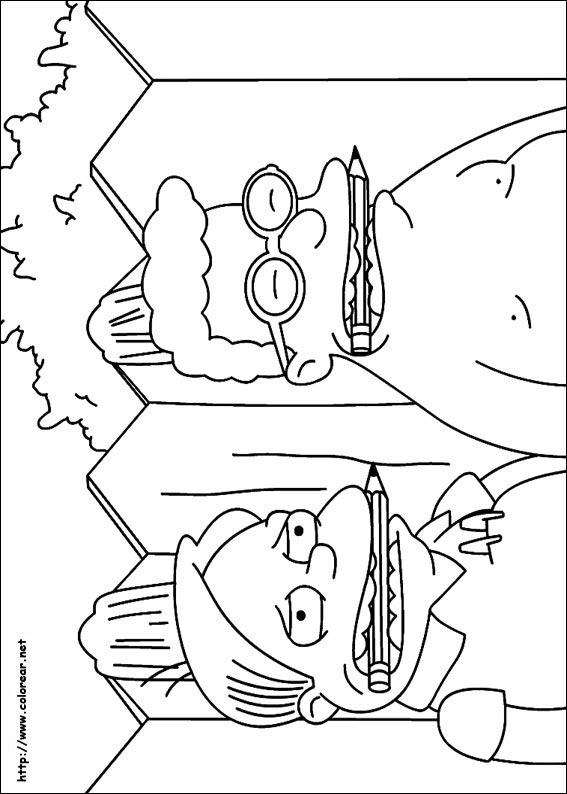 Dibujos Para Colorear Los Simpsons 43