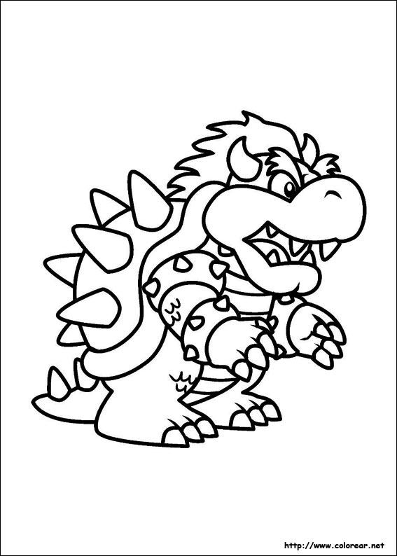 Dibujos de Super Mario Bros.