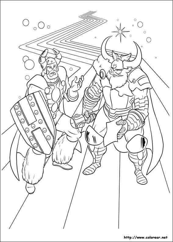 Gambar Dibujos De Thor Para Colorear En Colorear Net Jpeg Png Gif ...
