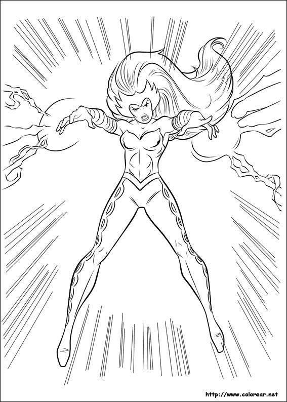 Dibujos Colorear Thor