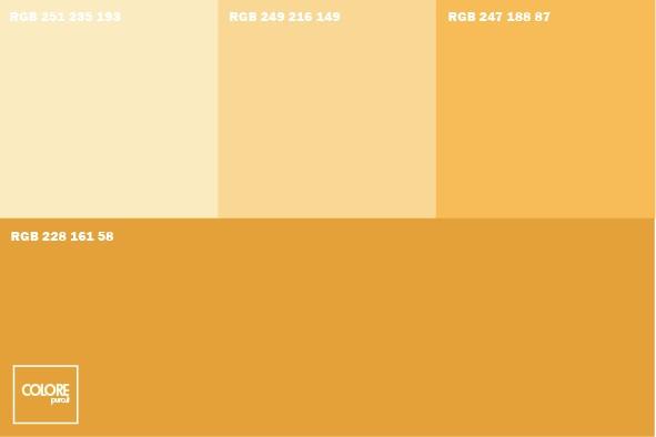 Ad esempio, aggiungendo del colore blu, rosso e nero, un muro bianco si. Tabelle Abbinamento Colori