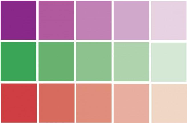 Schema colori complementari divergenti  COLOREPUROIT